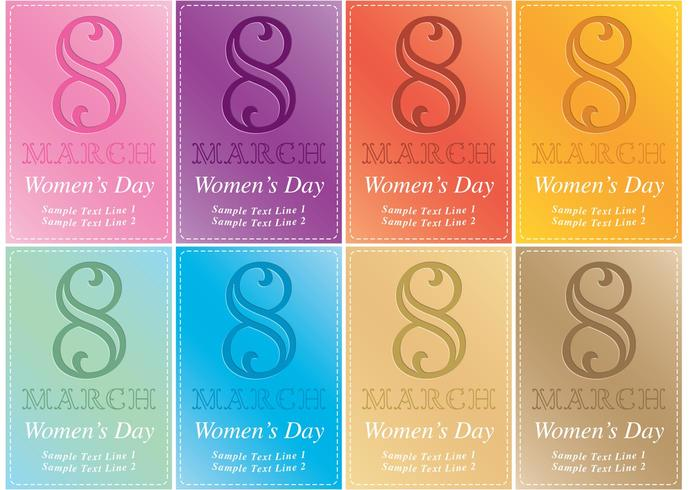 Women\u0027s Day Card Vector Invitations - Download Free Vector Art