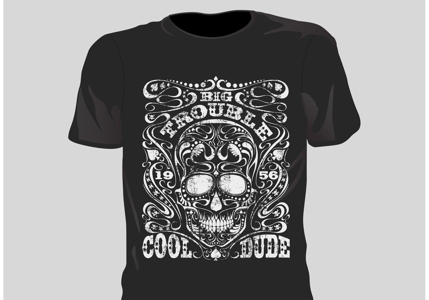 T shirt design vectors -  Vector Grunge T Shirt Design Download
