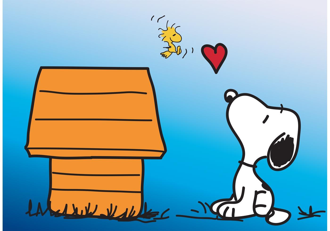 Cute Cartoon Horse Wallpaper Snoopy Vector Card Download Free Vector Art Stock
