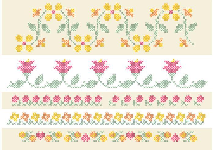 Cross Stitch Alphabet Free Vector Art - (3561 Free Downloads)