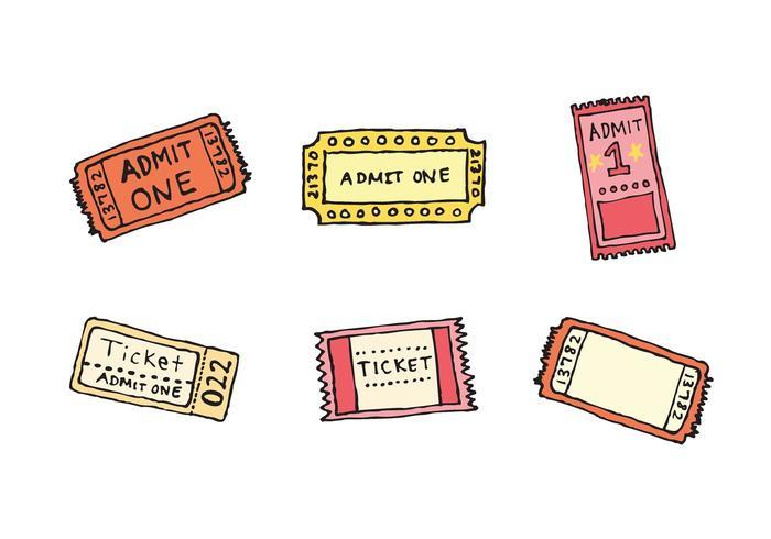 Concert Ticket Free Vector Art - (708 Free Downloads) - free concert ticket template