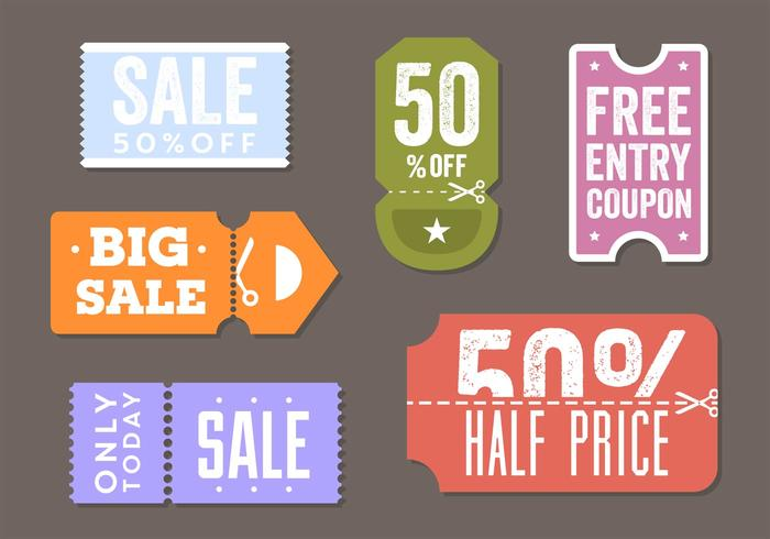 Coupon Template Free Vector Art - (16392 Free Downloads) - cupon template