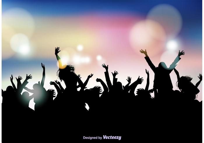 Black Silver Glitter Wallpaper Party Crowd Background Download Free Vector Art Stock
