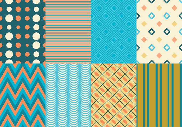 Retro Texture  Pattern Pack - Download Free Vector Art, Stock