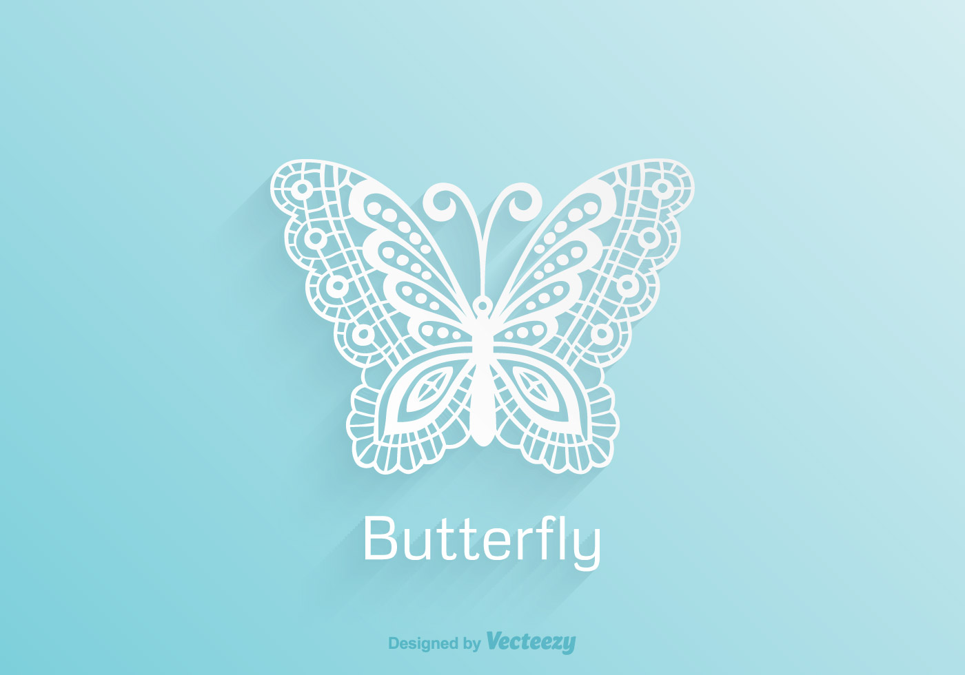3d Damask Wallpaper Free Paper Lace Butterfly Vector Download Free Vector