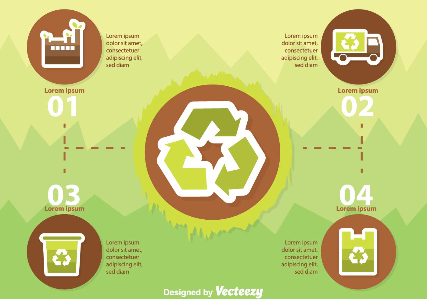 Images Stock Rubbish Recycle Infography Download Free Vector Art Stock
