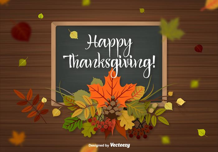 Fall Leaves Wallpaper Border Thanksgiving Background Vector Download Free Vector Art
