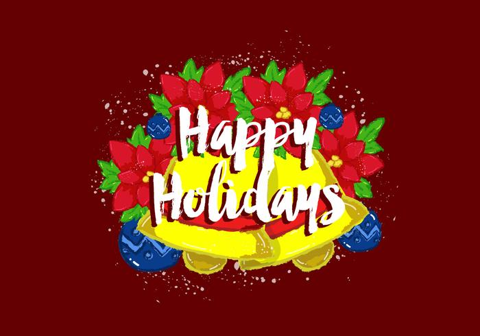 Free Vector Happy Holidays Wallpaper - Download Free Vector Art - free images happy holidays