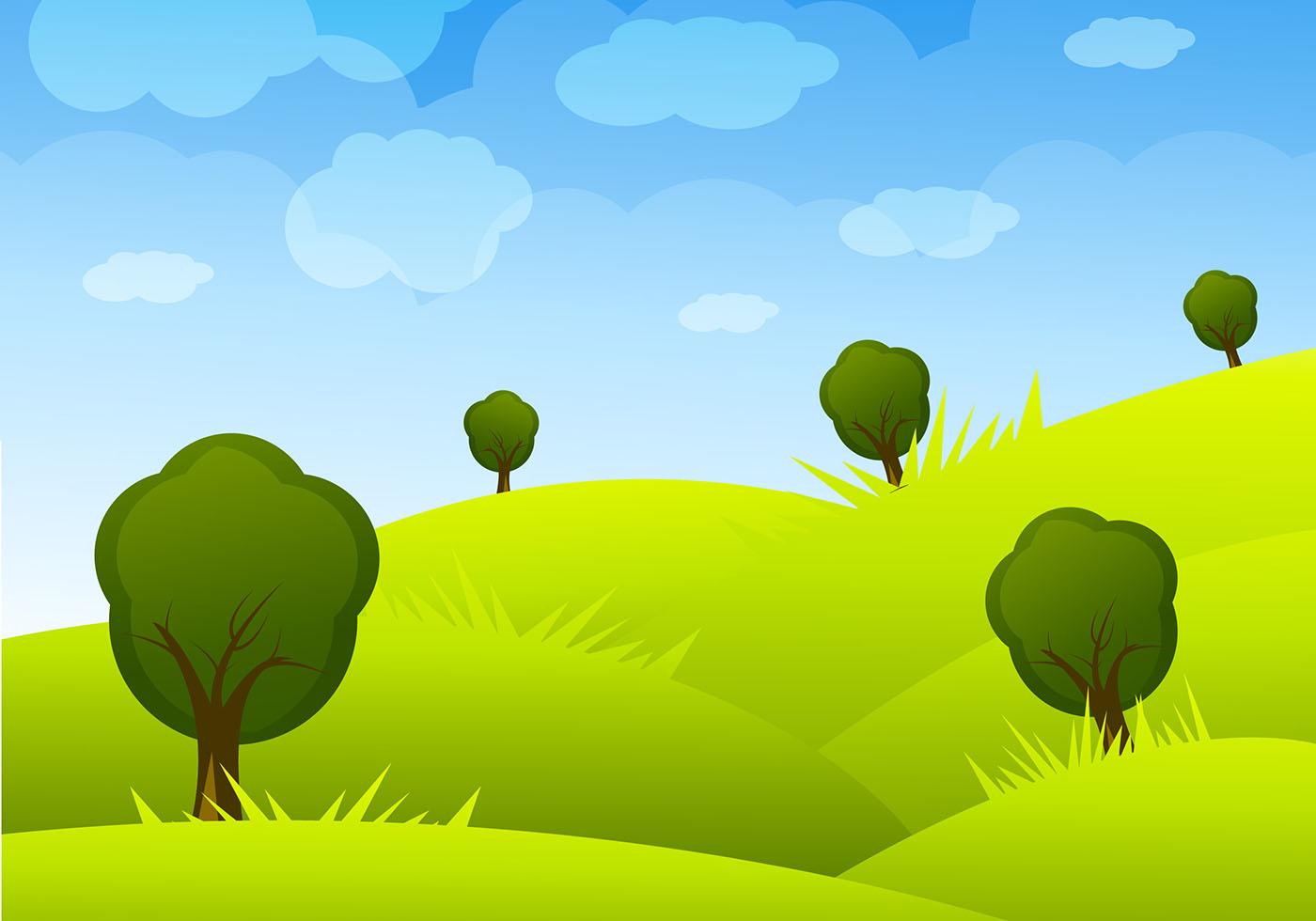 Desert Landscape Wallpaper Hd Cartoon Landscape Vector Download Free Vector Art Stock