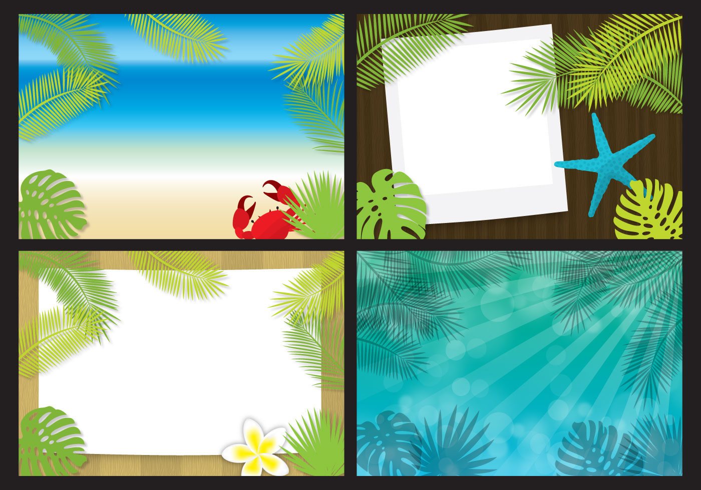 palm tree templates