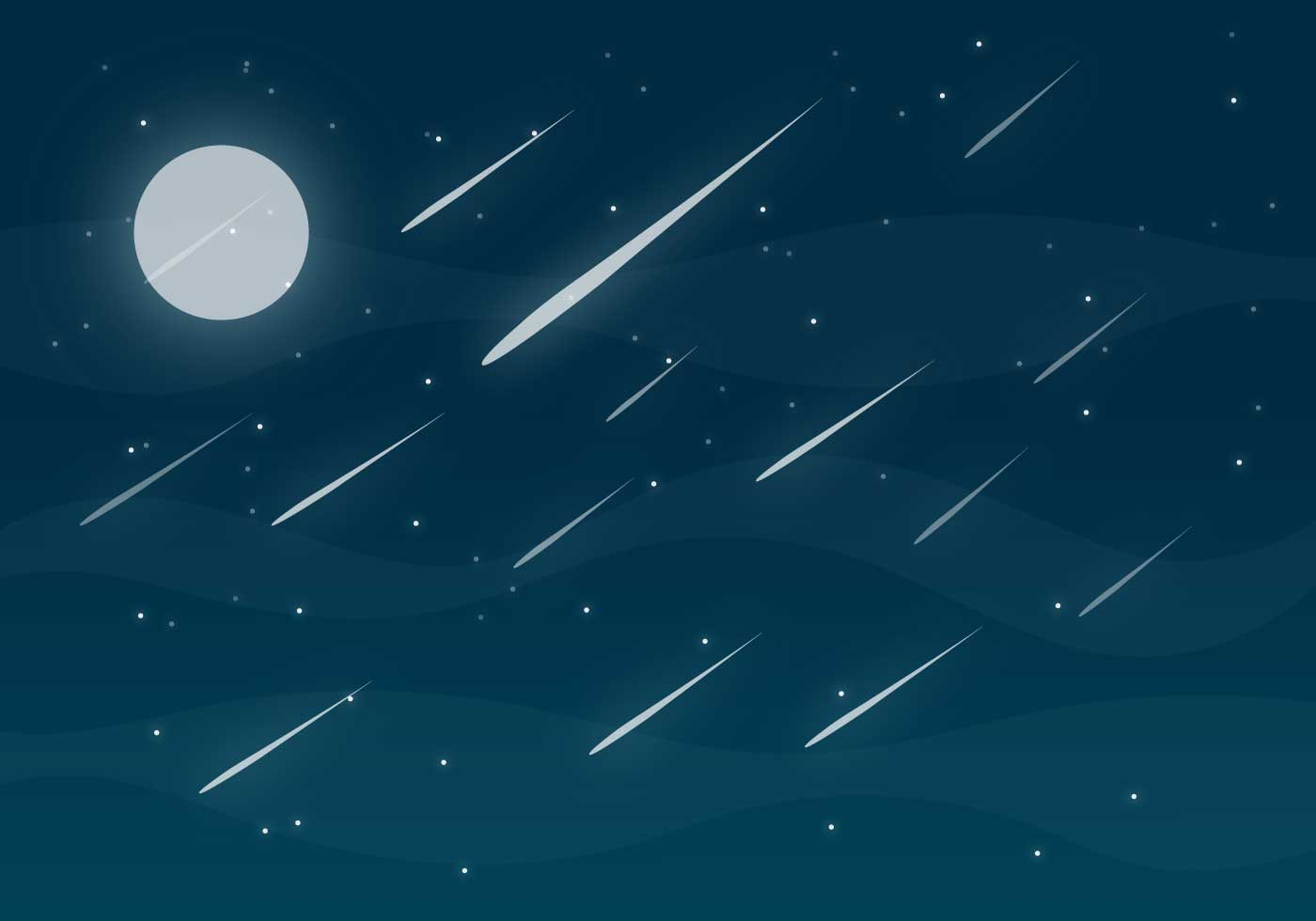Animated Butterfly Wallpaper Meteor Shower Free Vector Download Free Vector Art