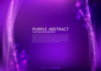 Purple Abstract Vector Background - Download Free Vector ...