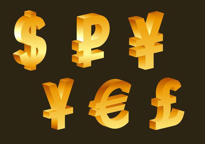 money currency symbols