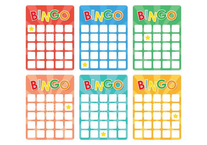 Retro Bingo Card - Download Free Vector Art, Stock Graphics  Images