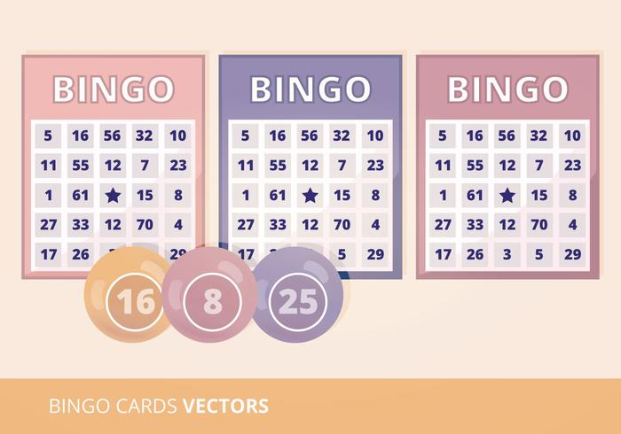 Bingo Cards Vector Illustration - Download Free Vector Art, Stock