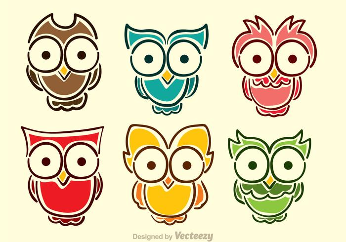 Cute Baby Cry Wallpaper Cartoon Owl Vectors Download Free Vector Art Stock