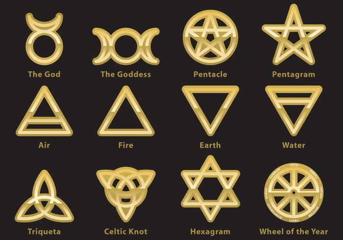 Occult Wallpapers Hd Wiccan Symbol Vectors Download Free Vector Art Stock