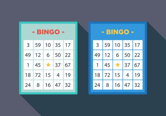 Vector Bingo Card - Download Free Vector Art, Stock Graphics  Images