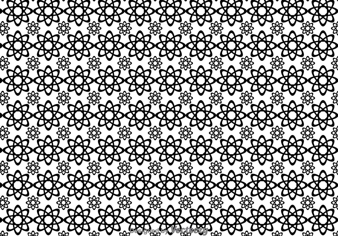 Black And White Flowers Shape Pattern Download Free Vectors Clipart Graphics Vector Art