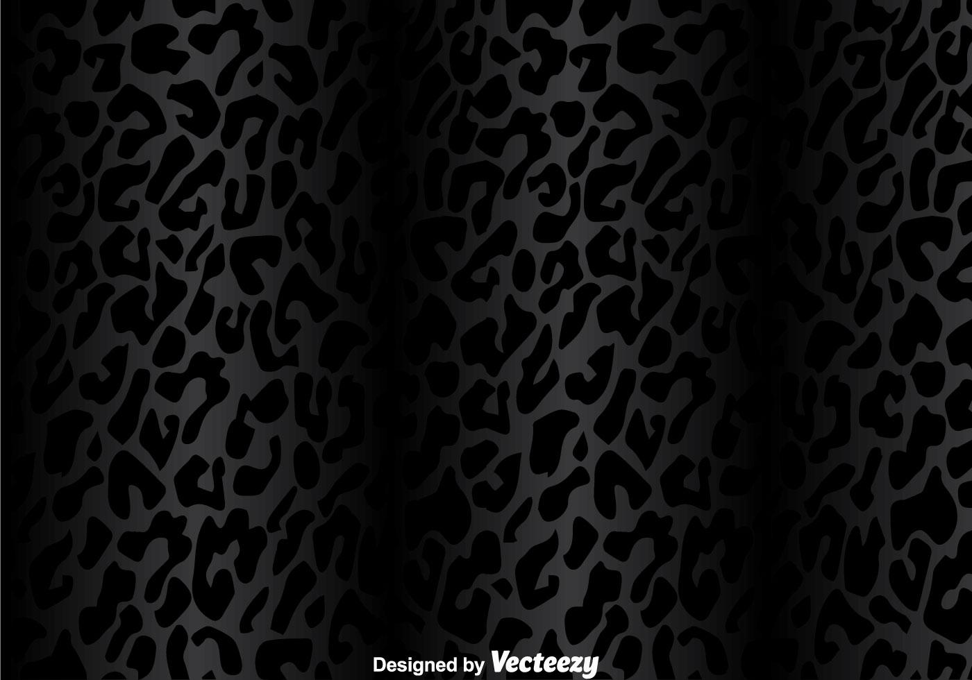 Silver Animal Print Wallpaper Black Leopard Pattern Download Free Vector Art Stock