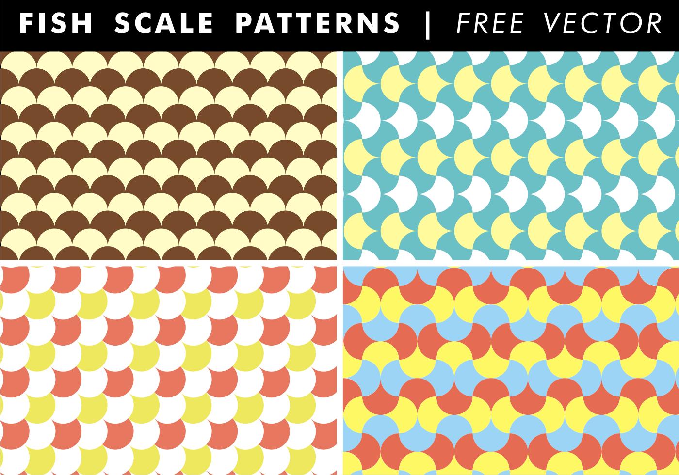 Wallpaper Pink Girl Cartoon Fish Scale Patterns Free Vector Download Free Vector Art