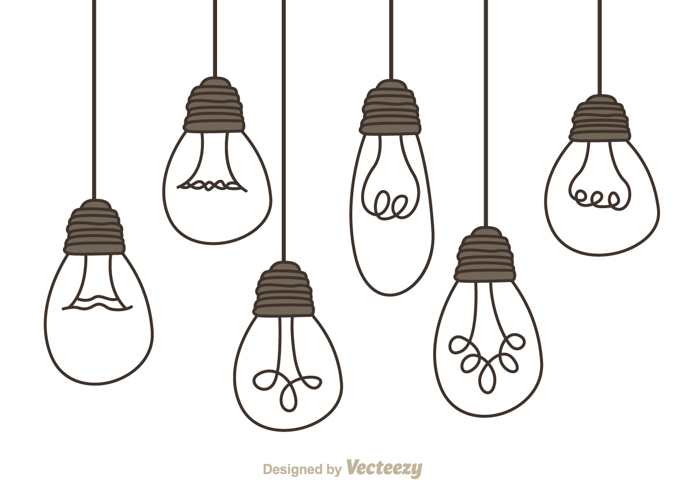 Hanging Lamp Logo Hanging Light Bulbs Download Free Vector Art Stock