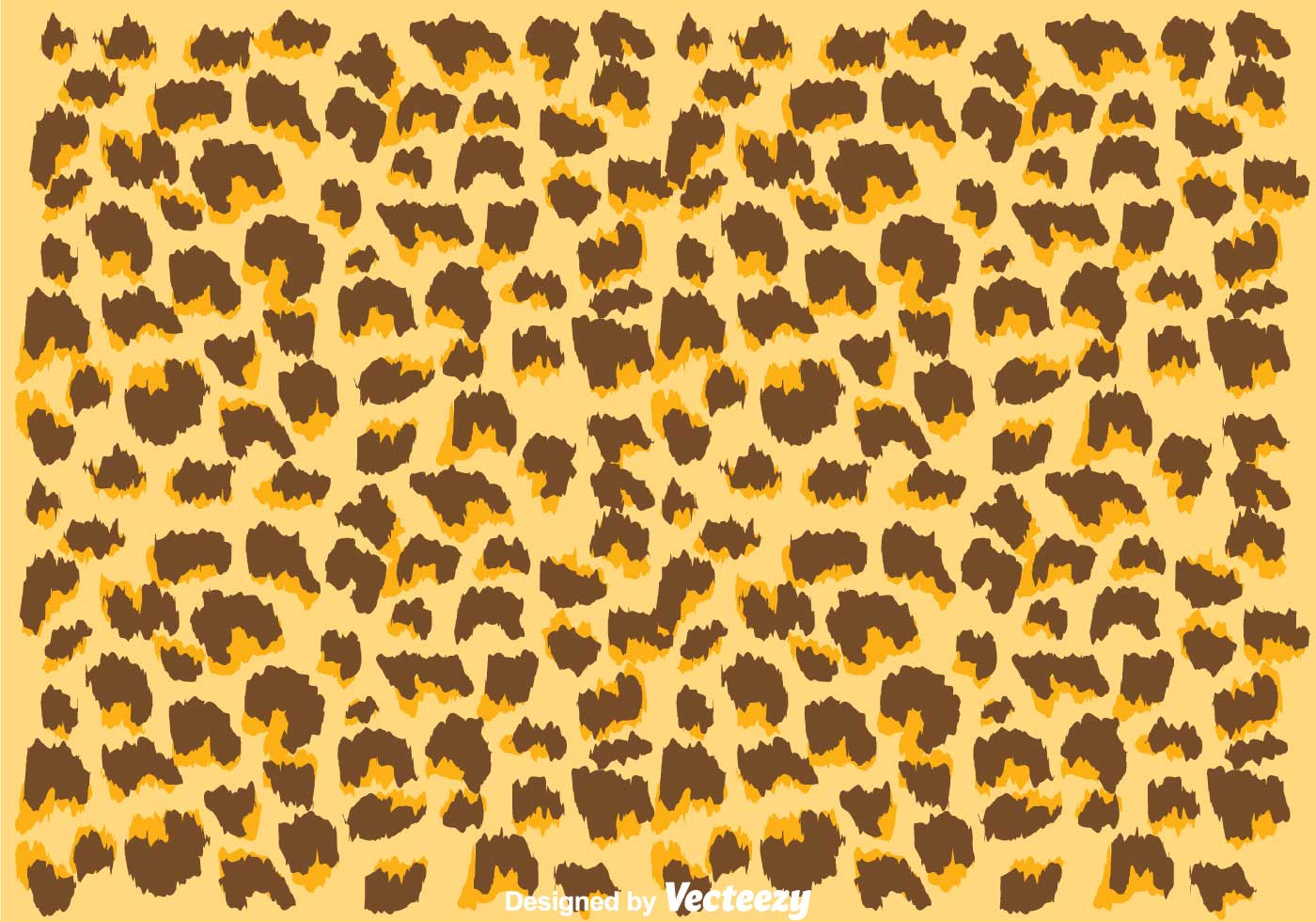 Leopard Animal Print Wallpaper Natural Color Leopard Pattern Download Free Vector Art