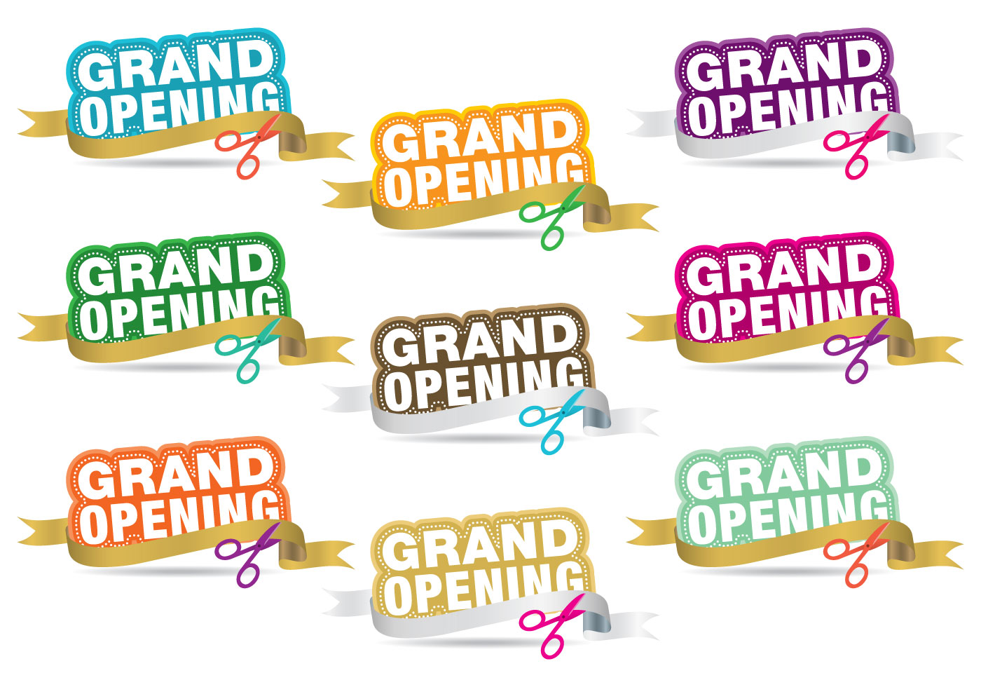 Invitation Heading Font Grand Opening Titles - Download Free Vector Art, Stock
