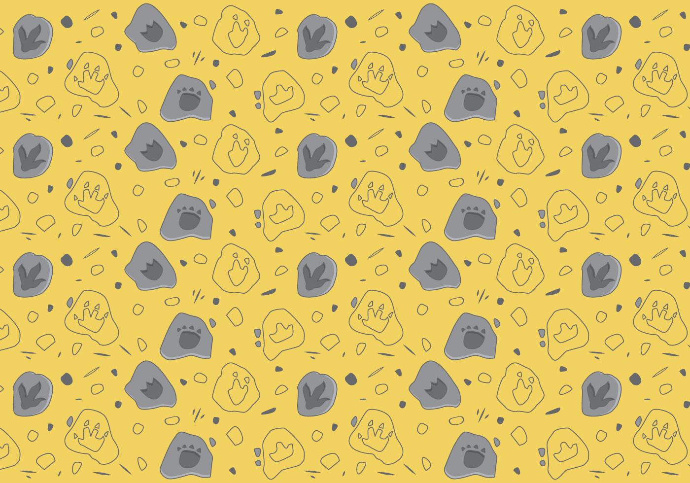Cute Paw Print Wallpaper Free Dinosaur Pattern 5 Download Free Vector Art Stock