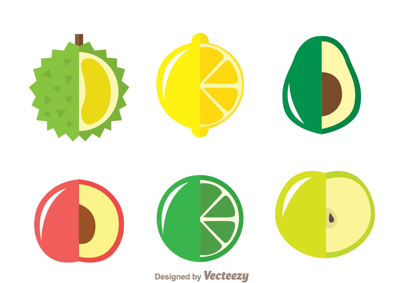 Cute Wedding Cartoon Wallpaper Fresh Fruits Icons Download Free Vector Art Stock