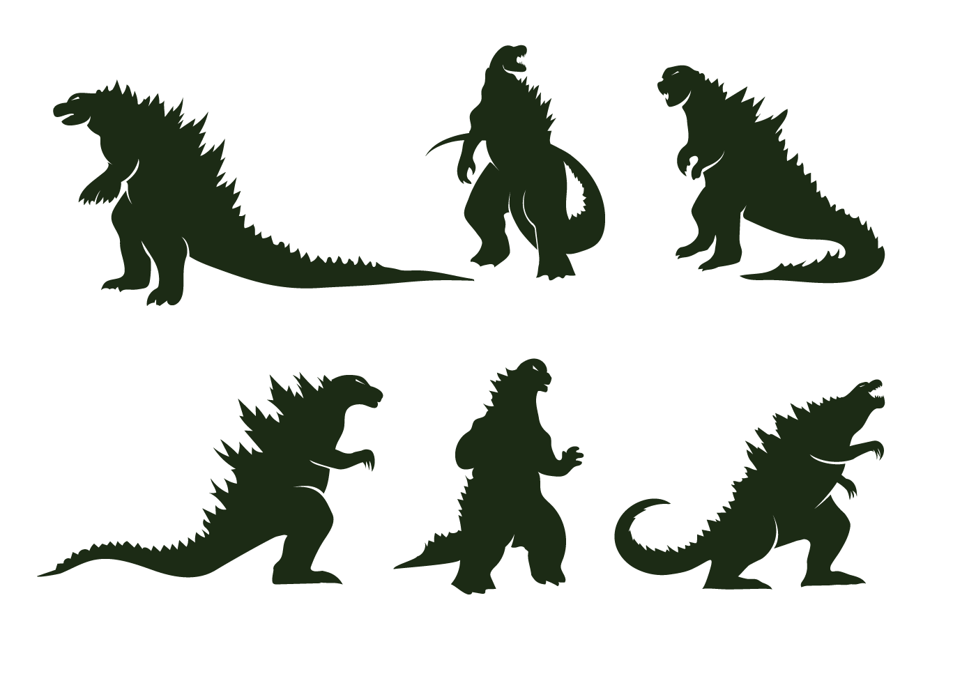 Arte Logo Eps Free Godzilla Vector Download Free Vector Art Stock