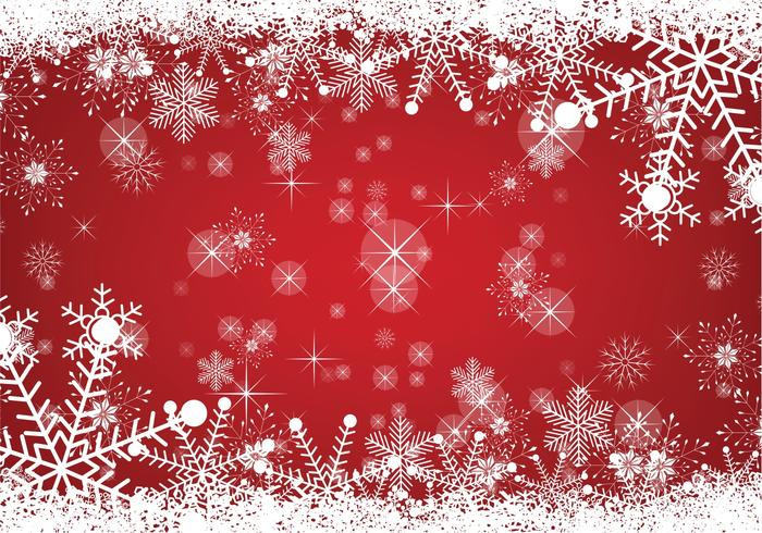 Snowy Christmas Background - Download Free Vector Art, Stock - christmas background image