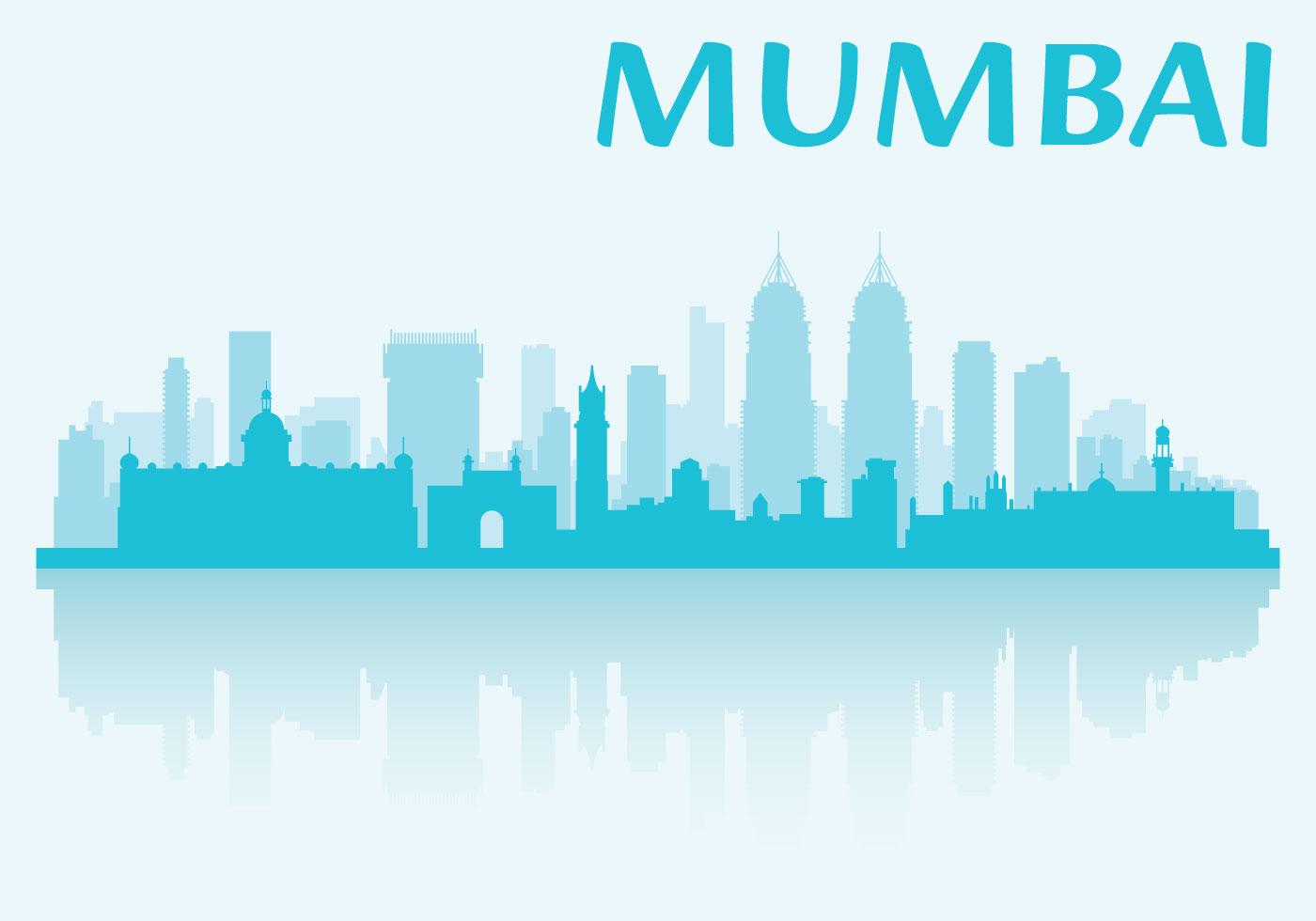 Mumbai City Wallpaper Hd Mumbai Skyline Download Free Vector Art Stock Graphics