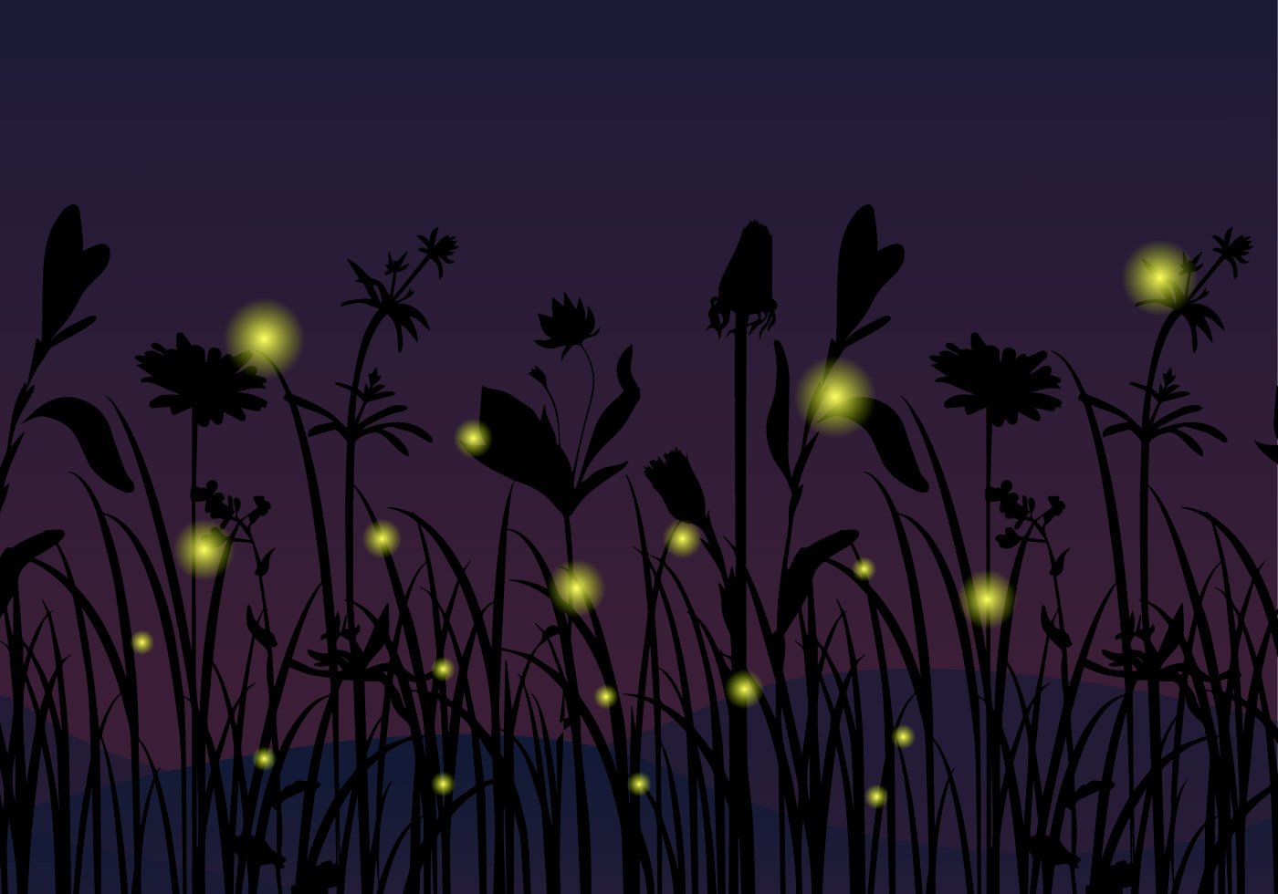 Firefly Insect At Night Firefly Vector Download Free Vector Art Stock Graphics