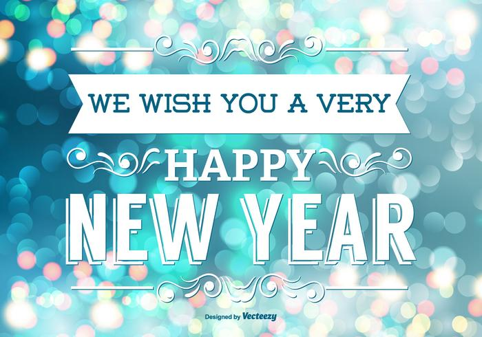 Happy New Year Card Free Vector Art - (26736 Free Downloads)