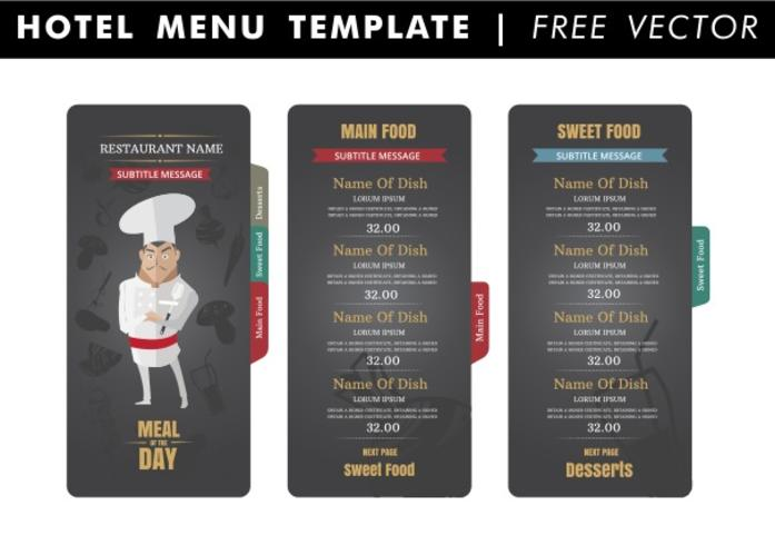Menu Free Vector Art - (7742 Free Downloads)