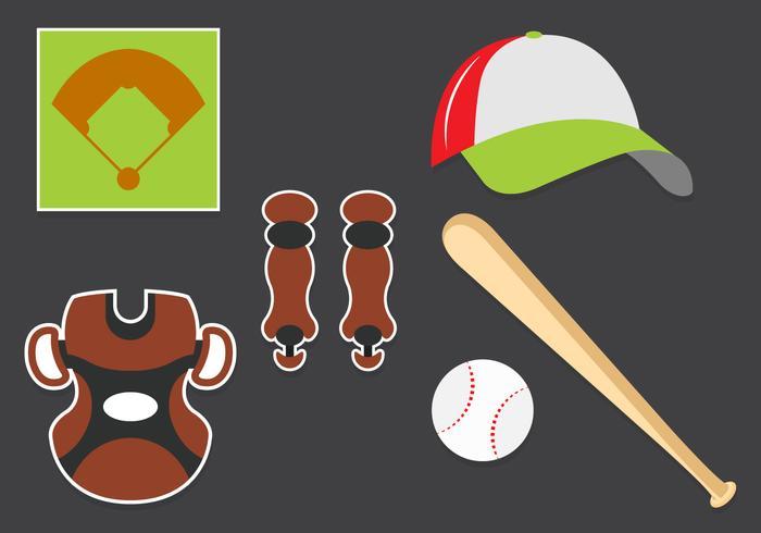Baseball Bat Free Vector Art - (1965 Free Downloads)