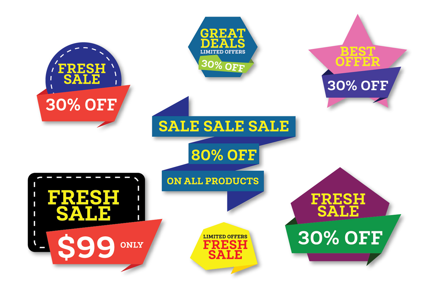 Store Banne Promotion Promotional Web Banners Download Free Vector Art Stock