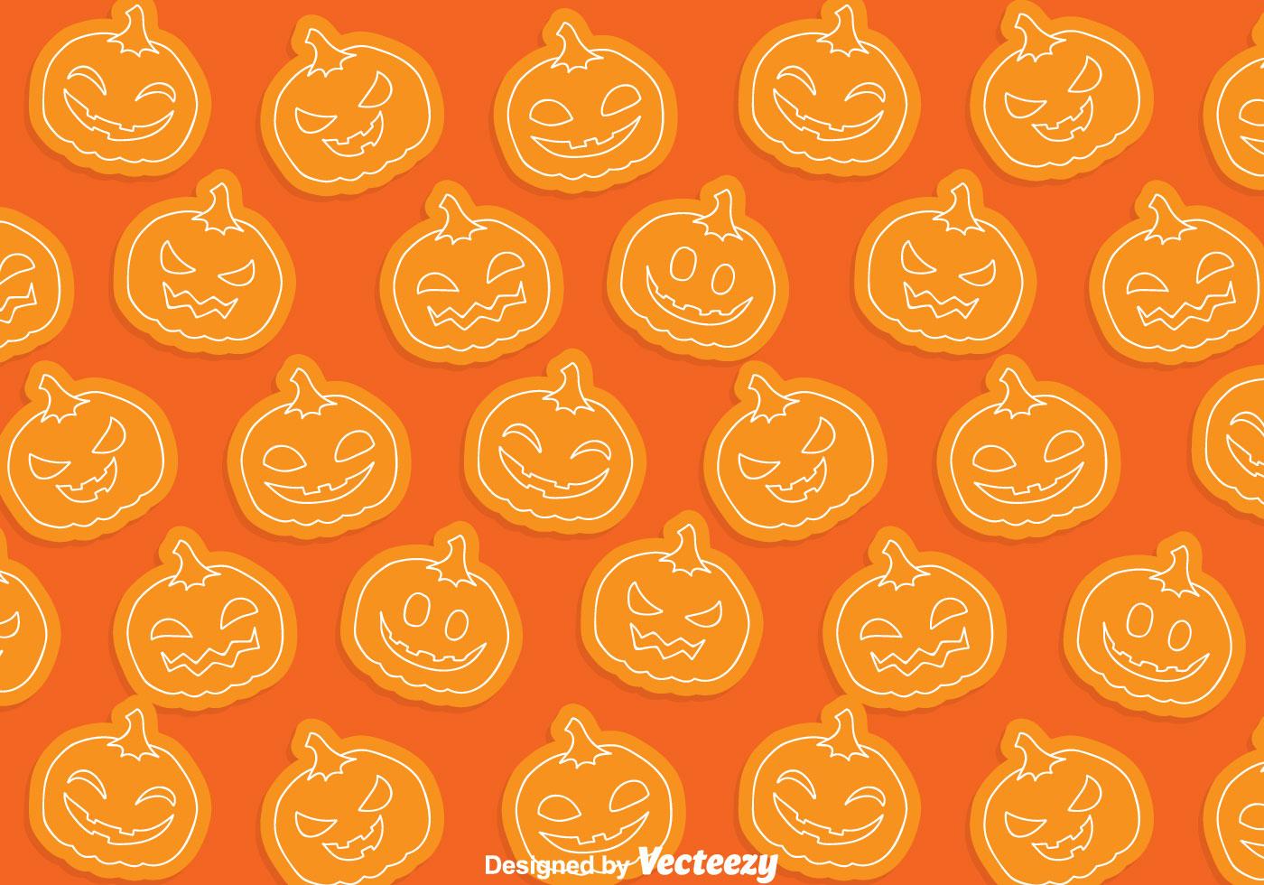 Fall Pumpkin Background Wallpaper Pumpkin Pattern Download Free Vector Art Stock Graphics
