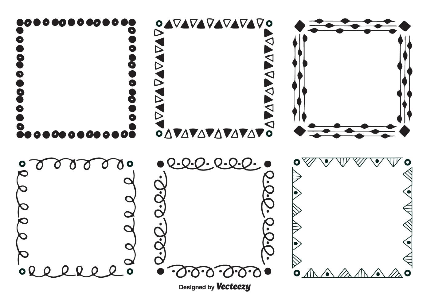 checkerboard border