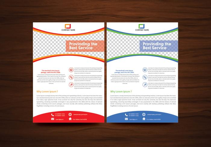 Brochure Free Vector Art - (19315 Free Downloads) - Flyer Outline