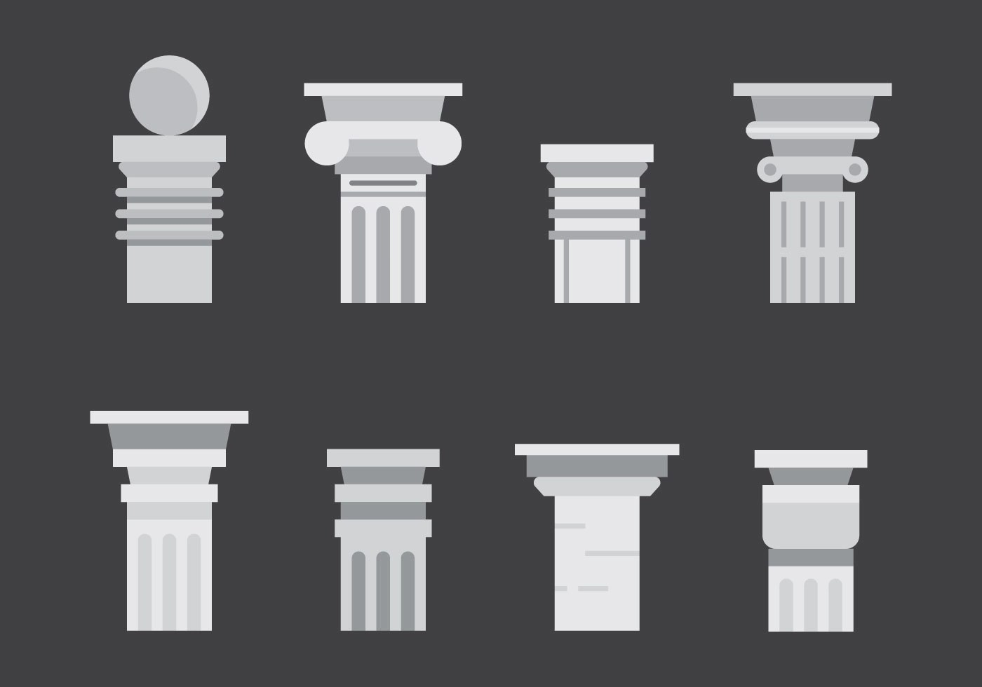 Pillar Designs Pictures Free Roman Pillar Vector Icons 2 Download Free Vector