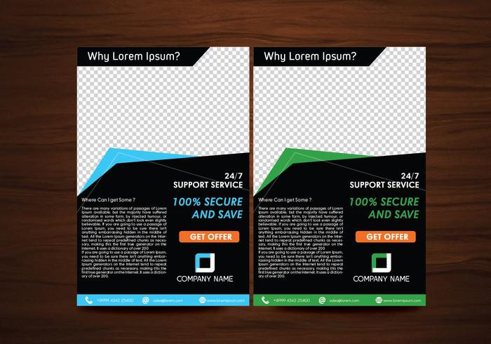 Vector Flyer Design Layout Template Vector - Download Free Vector - free flayer design