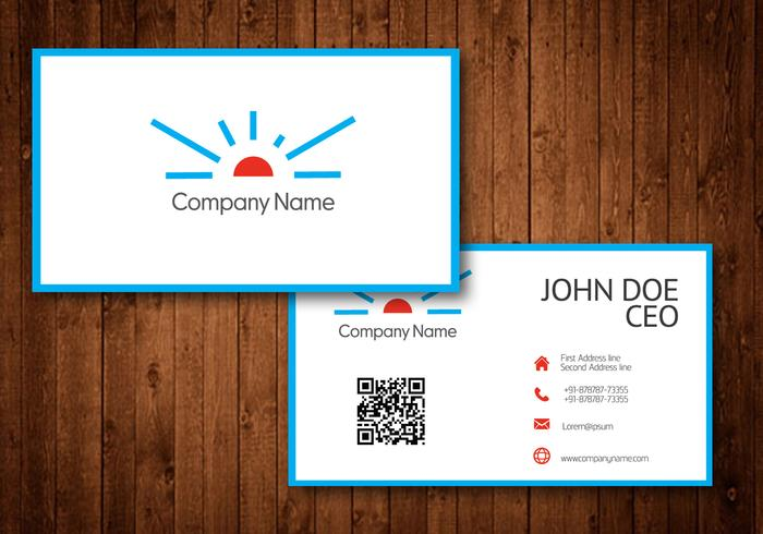 Sun Logo Business Card Template Vector - Download Free Vector Art