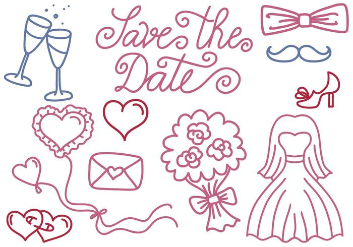 Free Wedding and Save the Date Vectors - Download Free Vector Art - free wedding save the dates