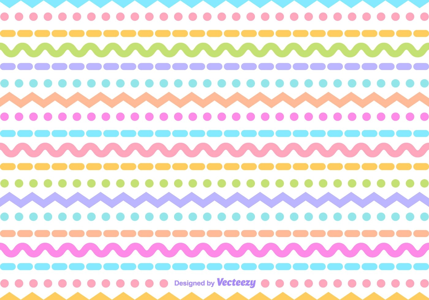 Black And White Polka Dot Wallpaper Border Zig Zag Vector Pattern Download Free Vector Art Stock