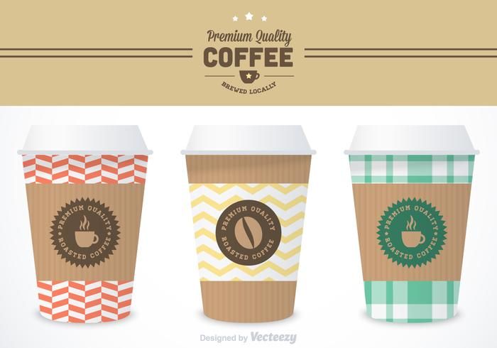 Free Coffee Sleeve Vector Templates - Download Free Vector Art