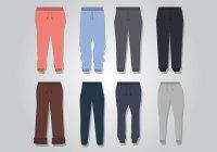 Sweatpants Vector - Download Free Vector Art, Stock ...