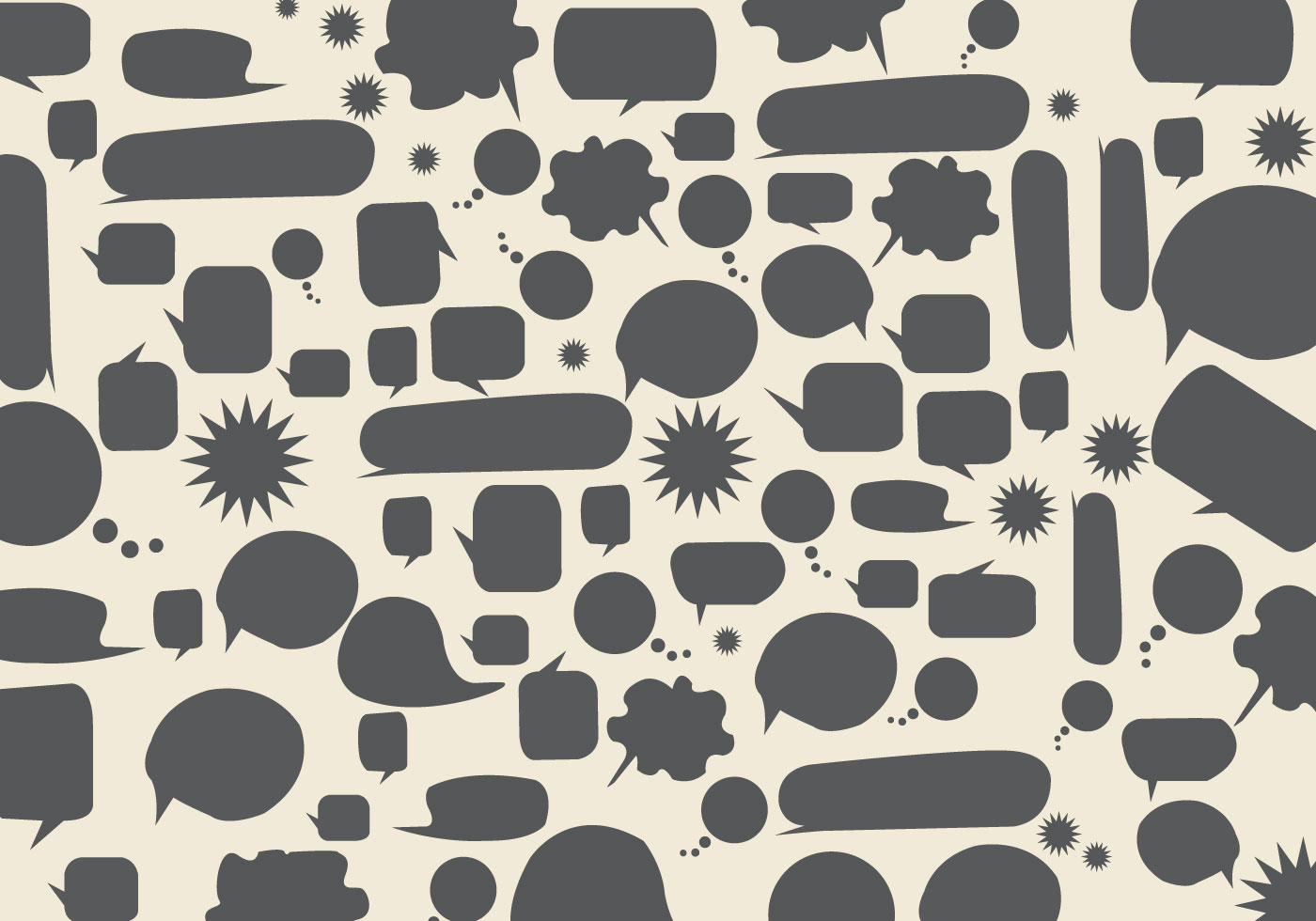 Cute Chat Wallpaper For Whatsapp Free Speech Bubbles Background Vector Download Free