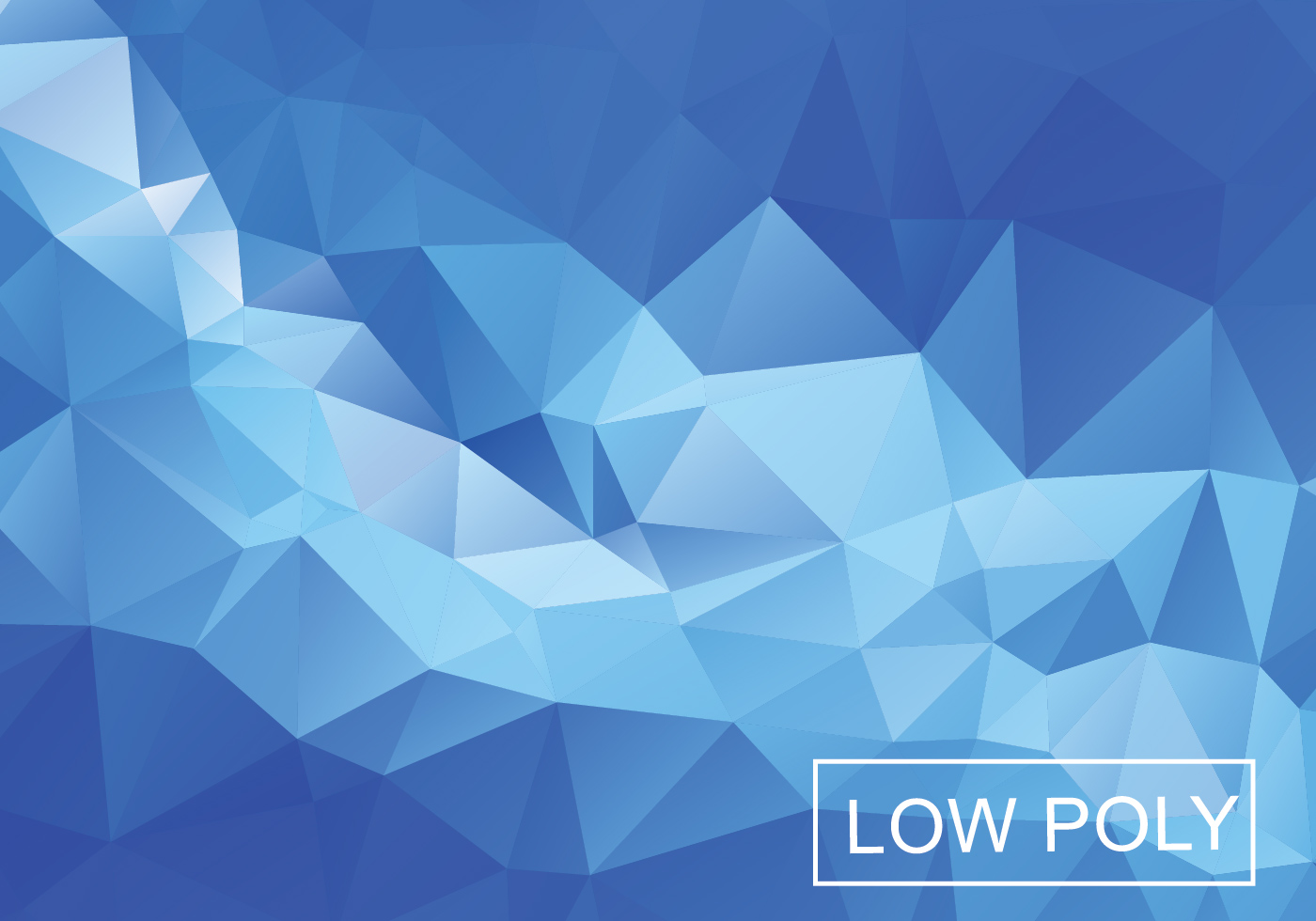 Blue Modern Wallpaper Texture Blue Light Polygonal Mosaic Background Download Free